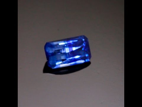 Bi-Color Blue and Clear Sapphire