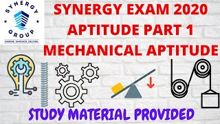 SYNERGY EXAM 2020: PART 1 MECHANICAL APTITUDE WITH STUDY MATERIAL  IMAGES, GIF, ANIMATED GIF, WALLPAPER, STICKER FOR WHATSAPP & FACEBOOK