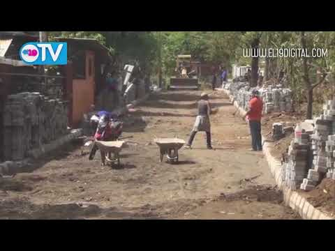 Realizan adoquinado en la Villa Bosco Monge