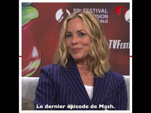 FESTIVAL 2019 - MY TV - Maria Bello