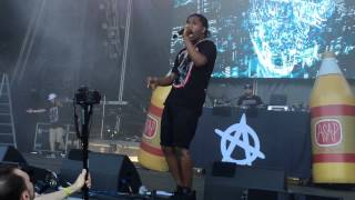 "A$AP Rocky ""Excuse Me"" at the Roots Picnic 2015"
