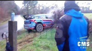 Salida de Carretera Iván Ares-Jose Pintor | Rali do Cocido 2018 | CMSVideo