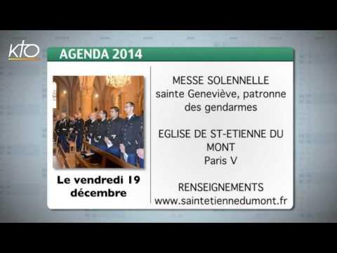 Agenda 15 décembre 2014