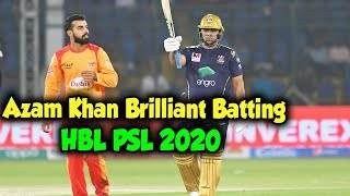 Azam Khan shines with 59 runs | 2nd Inning | Match 1 | HBL PSL 5 | 2020  Subscribe to our channel and stay updated with the latest happenings in HBL PSL 2020! http://bit.ly/PakistanSuperLeagueArchives #HBLPSLV #HBLPSL2020  Cricket fever in Pakistan is on the rise as Pakistan Super League's Fifth season progresses. We've seen some terrific displays of all round cricket. The competition is heating up among fans as their favorite teams take on each other in some nail-biting matches.