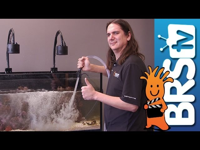Making Aquarium Water Changes Easier - EP 2: Saltwater Aquarium Maintenance