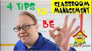 CLASSROOM MANAGEMENT - PART 1 - ESL Teaching Tips - Mikes Home ESL
