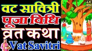 वट सावित्री अमावस्या पूजा विधि व्रत कथा | अखंड सौभाग्य पूजा | Vat Savitri Vrat Puja Vidhi Katha 2020