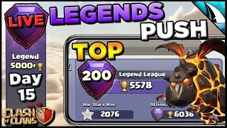 *Push For Top 200* Legends Push with Sui Lalo | Clash of Clans