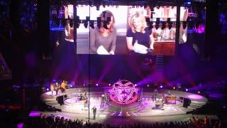 XXX's & OOO's (An American Girl) Trisha Yearwood Garth Brooks Salt Lake City Utah October 29, 2015
