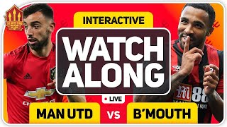 MANCHESTER UNITED vs BOURNEMOUTH With MARK GOLDBRIDGE LIVE