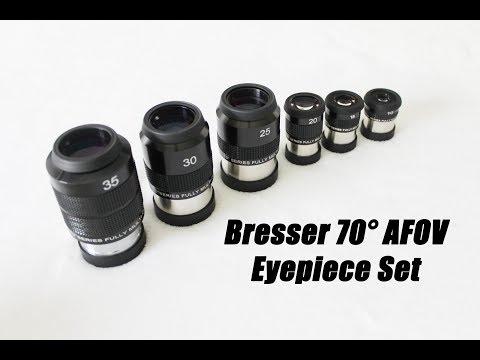 Bresser 70° AFOV Eyepiece Set Review