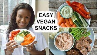 Easy Vegan Snacks for after School & Work | Raw