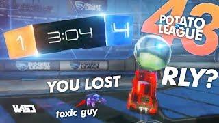 POTATO LEAGUE #43 | TRY NOT TO LAUGH Rocket League Funny Moments