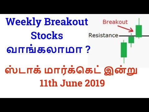 Weekly Breakout Stocks வாங்கலாமா ? ஸ்டாக் மார்க்கெட் இன்று  11th June 2019| Tamil Share
