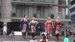"Танец Казачий  ""А я чернява, гарна, кучерява"" Setmana de diversitat cultural 2016"