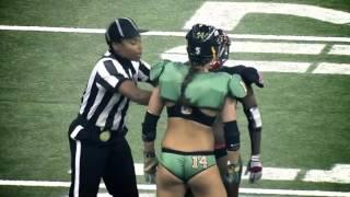 Женский Американский футбол Вот такой женский футбол я бы смотрел бы!