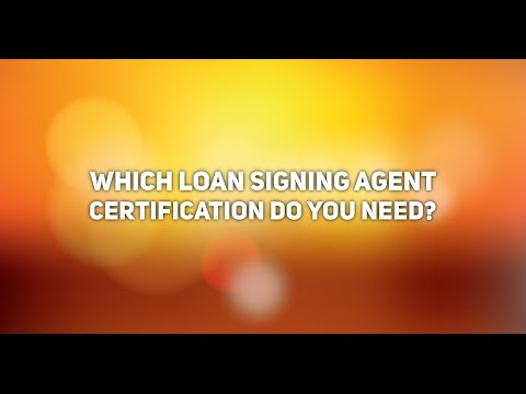 Do You Need the NNA Certification? Which Loan Signing Agent ...