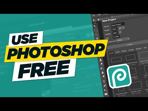 How to Use Photoshop Online for Free - Photopea an Alternative of Photoshop