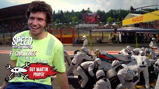 Guy's Race Pit Stop During The Belgian GP   Guy Martin Proper