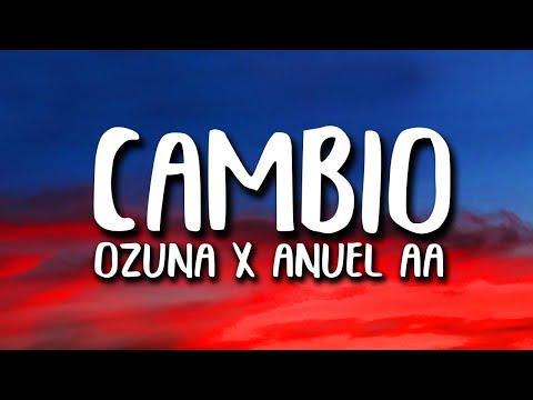 Ozuna X Anuel AA - Cambio (Letra/Lyrics)