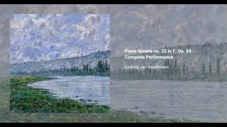Piano Sonata no. 22 in F major, Op. 54