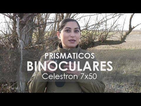 Binoculares o prismáticos de uso táctico para supervivencia, caza o aventura Celestron 7x50