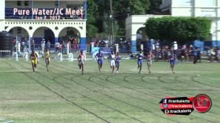 Girls 100m Class 2 Heat 7 #JCMeet
