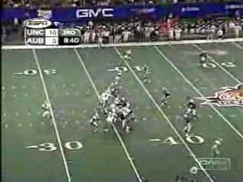 Video: 2001 Peach Bowl, UNC vs Auburn