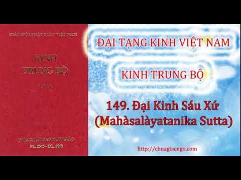 Kinh Trung Bộ - 149. Đại kinh sáu xứ