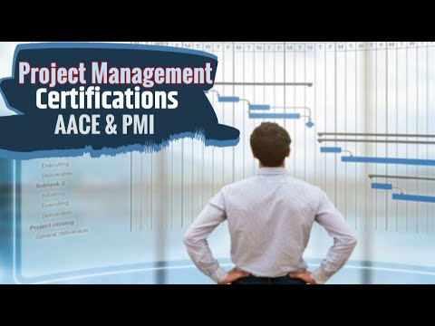Project Management Certifications AACE PMI Infomercial CCP PMP ...