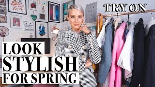 NEW Spring Trend OUTFITS + TRY ON with me