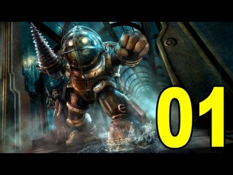 Bioshock - Part 1 - Welcome To Rapture (Let's Play/Playthrough/Walkthrough)