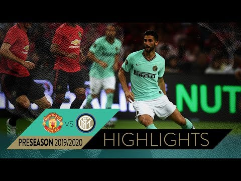 Manchester United International Champions Cup 2020.Manchester United 1 0 Inter Highlights 2019