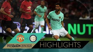 MANCHESTER UNITED 1-0 INTER   HIGHLIGHTS   2019 International Champions Cup