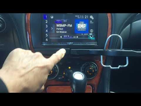 2003 Mercedes-Benz SL500 Radio Removal - смотреть онлайн на