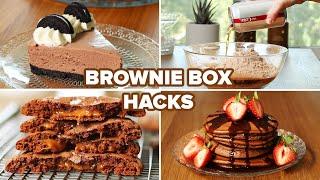 I Tried 4 Different Brownie Box Hacks • Tasty