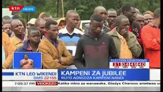 Kampeni za Jubilee :William Ruto amtaka Raila Odinga kujiondoa kwa kinyang'anyiro cha urais