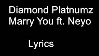 Diamond Platnumz – Marry You ft  Neyo Lyrics