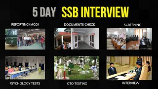 5 Day SSB Interview Procedure With Detailed Explanation (2019 Complete SSB Interview Process)