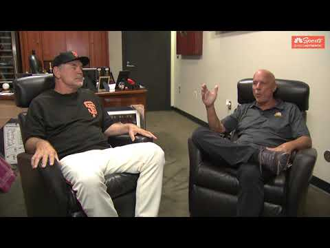 Bruce Bochy reflects on his baseball career with Tim Flannery