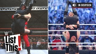 6 Superstars, die Undertakers Tombstone stahlen - WWE List This! (DEUTSCH)
