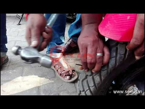 Anti Puncture Tyre sealant for Scooters with Tubeless Tyre