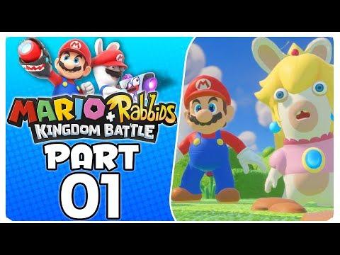 Mario + Rabbids Kingdom Battle - Part 1   World 1-1