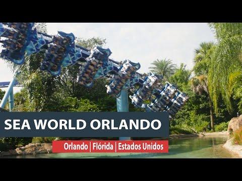 SeaWorld garante altas aventuras em Orlando