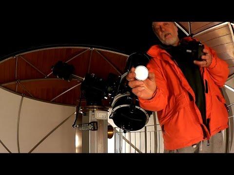Test di fotografia astronomica con filtro infrarosso in presenza di foschia