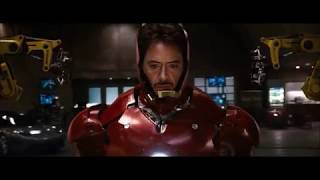 IronMan All Suits Transformation - Driving With The Top Down (Music Video)