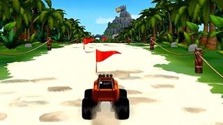Juegos Carritos para Niños - Carrera de Carros en la Isla del Dragon