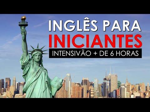 Curso de INGLÊS para iniciantes grátis online - Intensivão com pdf e mp3