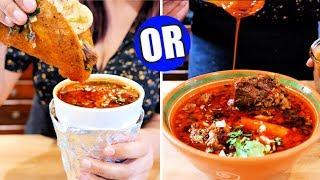 How to make Mexican Birria de Res Consome and Tacos | BONUS Birria Oil