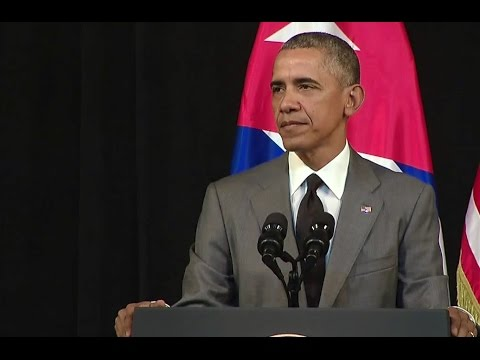 , title : 'President Obama Delivers Remarks to the People of Cuba'